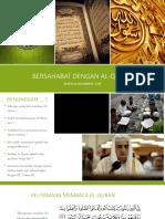 Bersahabat Dengan Al-quran