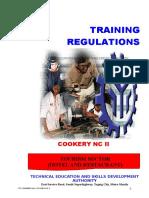 Tr - Cookery Nc II