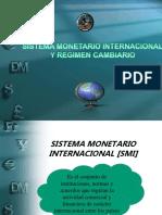 Sistema Monetario Internacional y Tipo de Cambio (1)