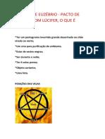 Pacto de Sangue Com Lucifer