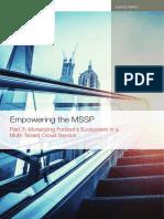 PART 3 Empowering MSSP Monetizing Fortinets Ecosystem