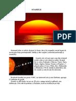 Proiect Soare