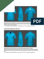 New Polo Shirt Catalog 2017