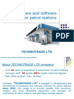 Automation of Petrol Stations