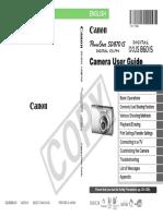 Manual Canon Power Shot