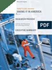 MGI Making It in America Executive Summary