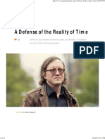 A Defense of the Reality of Time _ Quanta Magazine