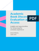 Faherty Academic Book Discovery Full Report