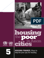 Quick Guides for Policy Makers 1 URBANIZATION the Role the Poor Play in Urban Development