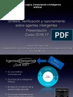 Presentación Agentes Inteligentes Máster MULCIA