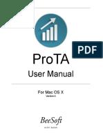 ProTAUserManual -4 Mac