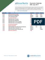 Economic Calendar Cm2007