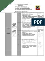 CICLO v Plan de Lengua Castellana 2017