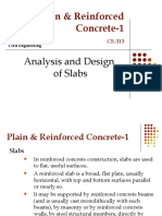 Analysis and Design of Slabs 1[1]