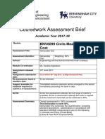 Bsc Qs b 01 - Bnv 6099 - Cmc - Course Work 01