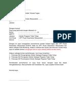 Surat Permohonan Mutasi Unit PKM
