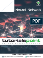 Artificial Neural Network Tutorial