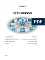 Contents of Networking