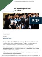 Los Jóvenes No Están Eligiendo Las Profesiones Del Futuro _ Foro Económico Mundial