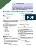 Speed Time & Train & Boat & Stream..pdf