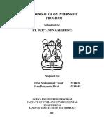 Proposal Internship - Irfan M. Yusuf & Ivan Benyamin E.