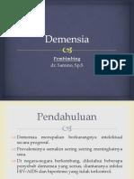 [Slide] Demensia