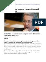 Álvaro Uribe reconoce su vinculación con el paramilitarismo