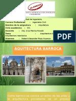 AQUITECTURA BARROCA