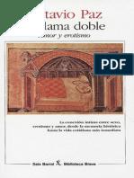 Octavio Paz-La Llama Doble [17999]