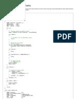 Displaying Volume Paths (Windows)