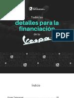 Tapyracuai - Detalles Para Financiar Tu Vespa