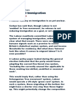 Labour and Immigration1