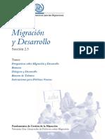 Migracion y Desarrollo