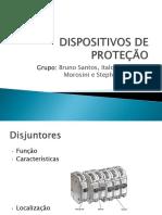 Apresentação Sobre Dispositivos de Proteção