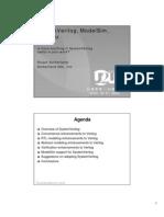 2004 Mentor U2U Presentation SystemVerilog and ModelSim