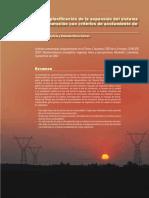 modelo de expansion del sistema electrico tradeoff