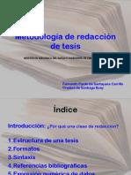 Metodología de Redaccion de Tesinas_Presentación - Cristina de Santiago Fernando Pardo