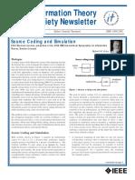 IEEE Infor Theor Soc Letter December 2008