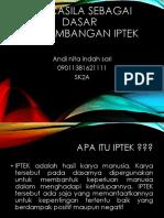Pancasila Sebagai Dasar Pengembangan IPTEK.pptx