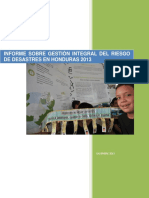 158-Informe Gird Honduras 2013