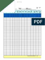 Duct Static Pressure Loss Calculation-BF EAF-08 (T1)