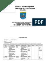 Perangkat Pembelajaran Basa Sunda Basa Sunda SD MI Kelas 4
