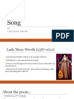 Song Ladymarywroth