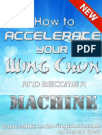 How to Accelerate Your Wing Chun and Become a Machine