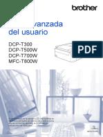 Guía Avanzada DCP-T300