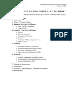CEC Report Format (Sem-II)