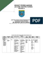 Perangkat Pembelajaran Basa Sunda Basa Sunda SD MI Kelas 6