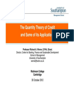 Richard Werner_The Quantity Theory of Credit and Some of Its Applications