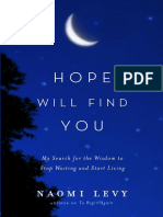 Hope Will Find You by Naomi Levy - Ch. 31 Excerpt