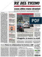 Corriere Del Ticino 18 Luglio 2017